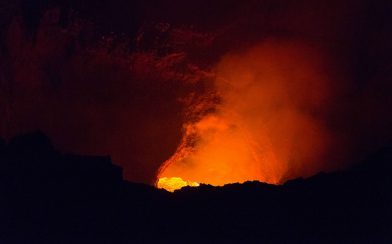 Small Glimpse of the Lava