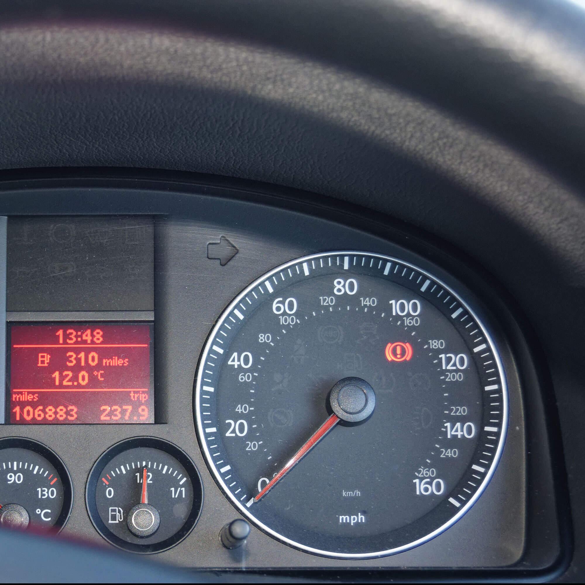 Iceland Rental Speedometer