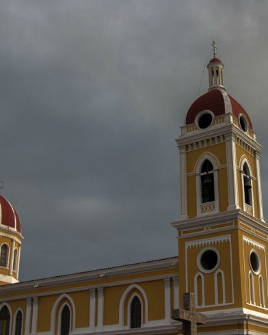 Stomy Clouds over Granada's Main Cathedral