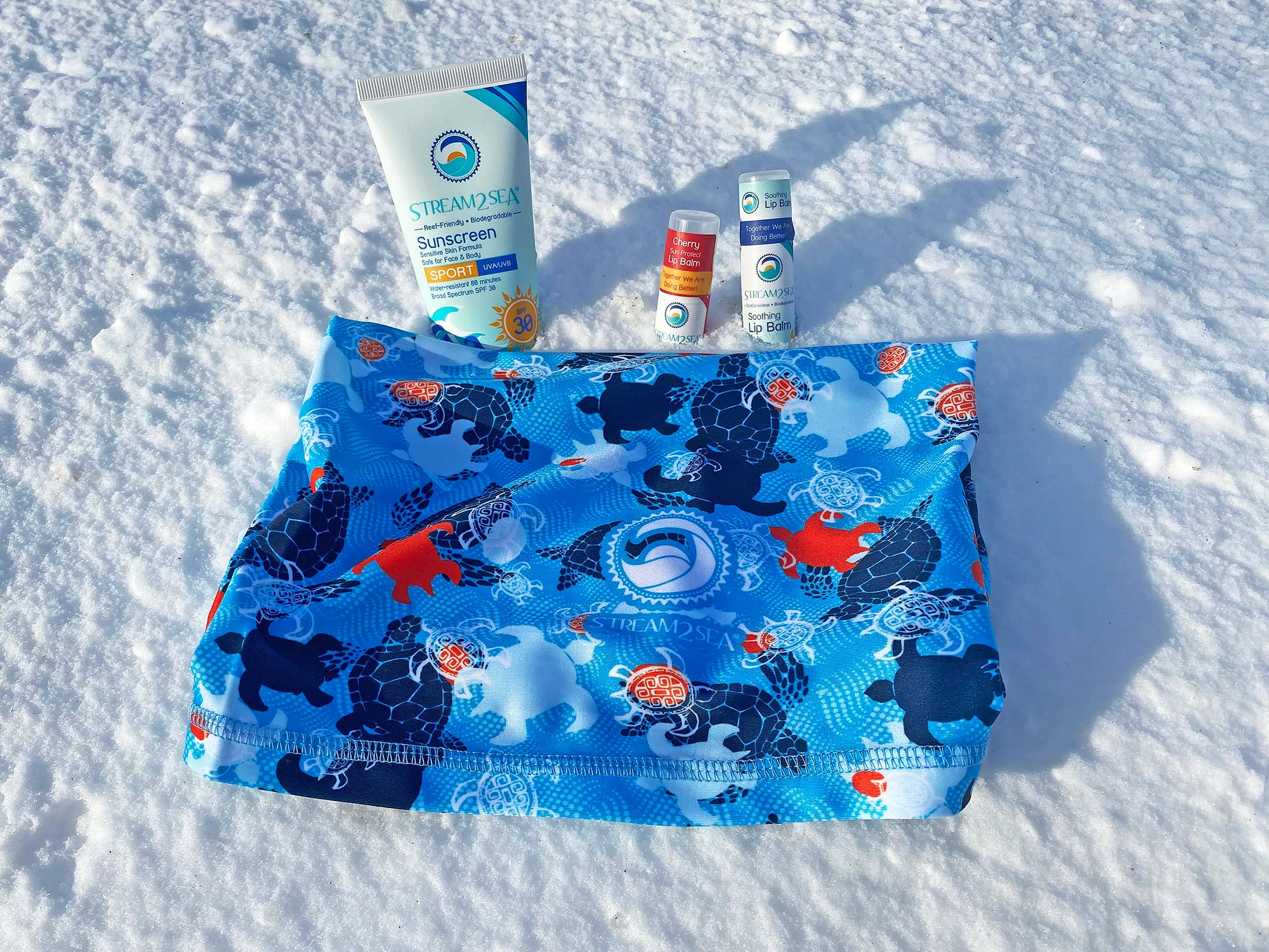 Stream2Sea Products in the Snow