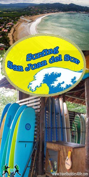 Surfing San Juan del Sur Pinterest