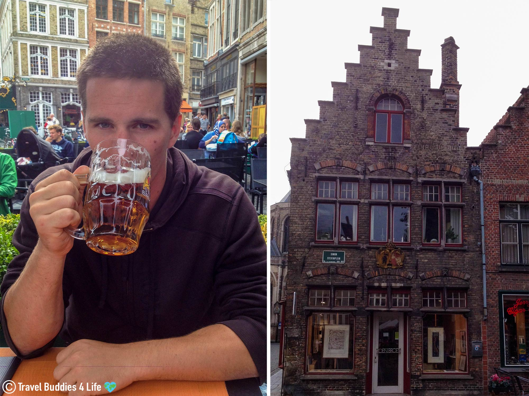 Taking In The Sights, Smells And Tastes Of Bruge, Belgium, Europe