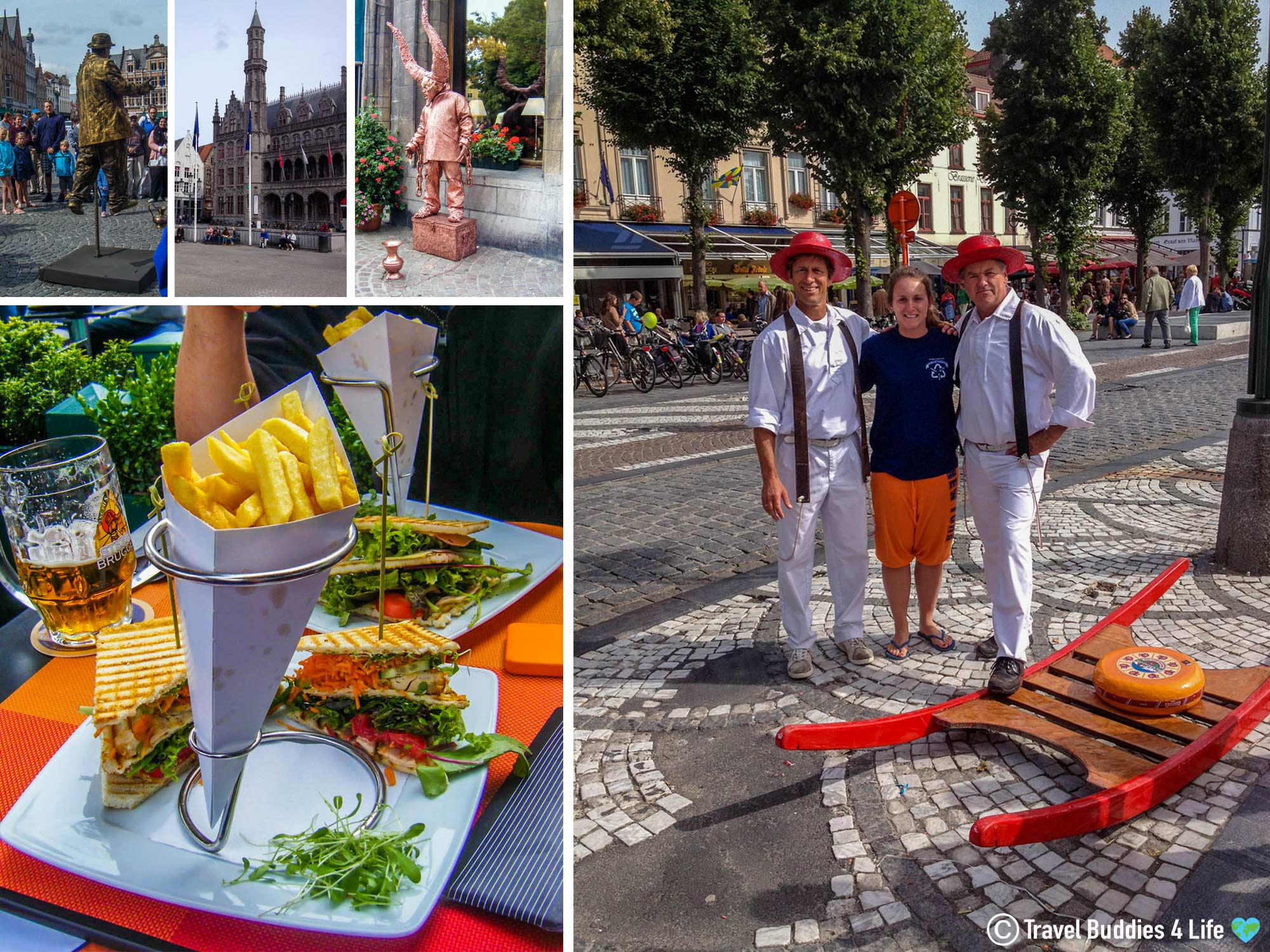 The Activities That Can Be Done Around The Little City Of Bruge, Belgium, Europe