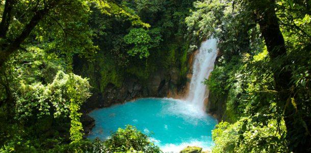 The Azure Rio Celeste Waterfalls