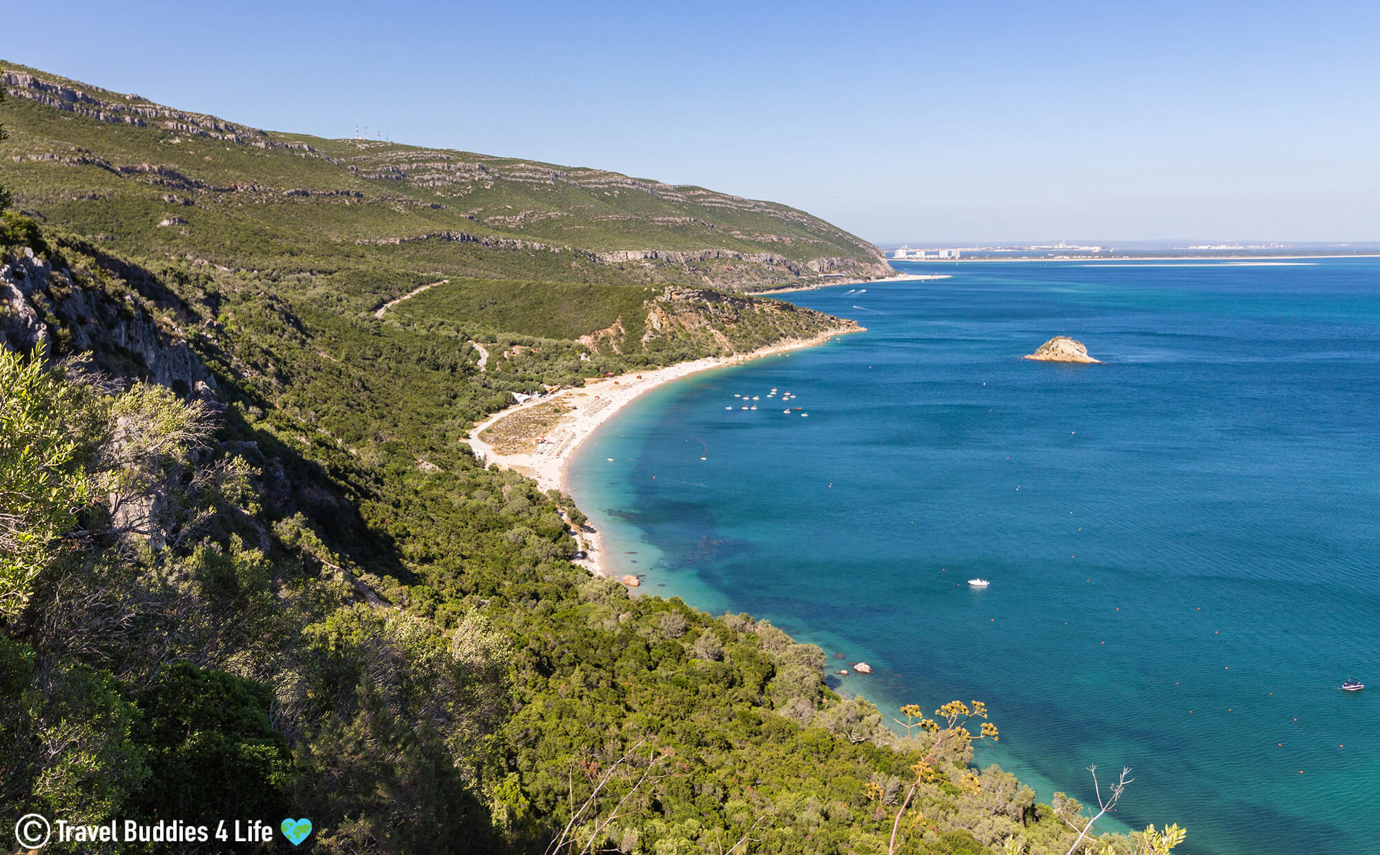 The Blue Water and Rugged Coast of Portugal's Arribadas Region