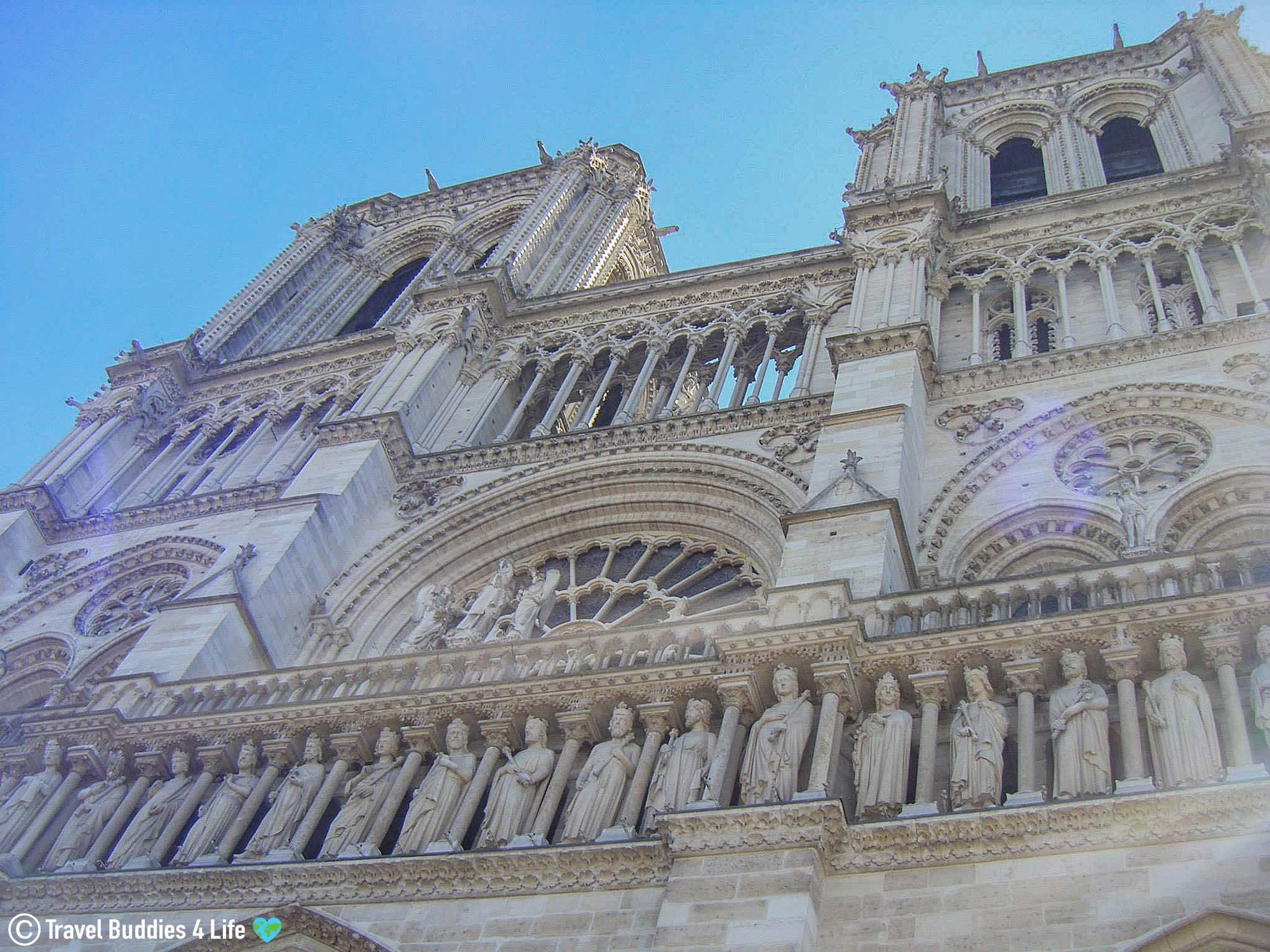 The Cathedral Of Notre Dame In Paris, France, Traveling Europe