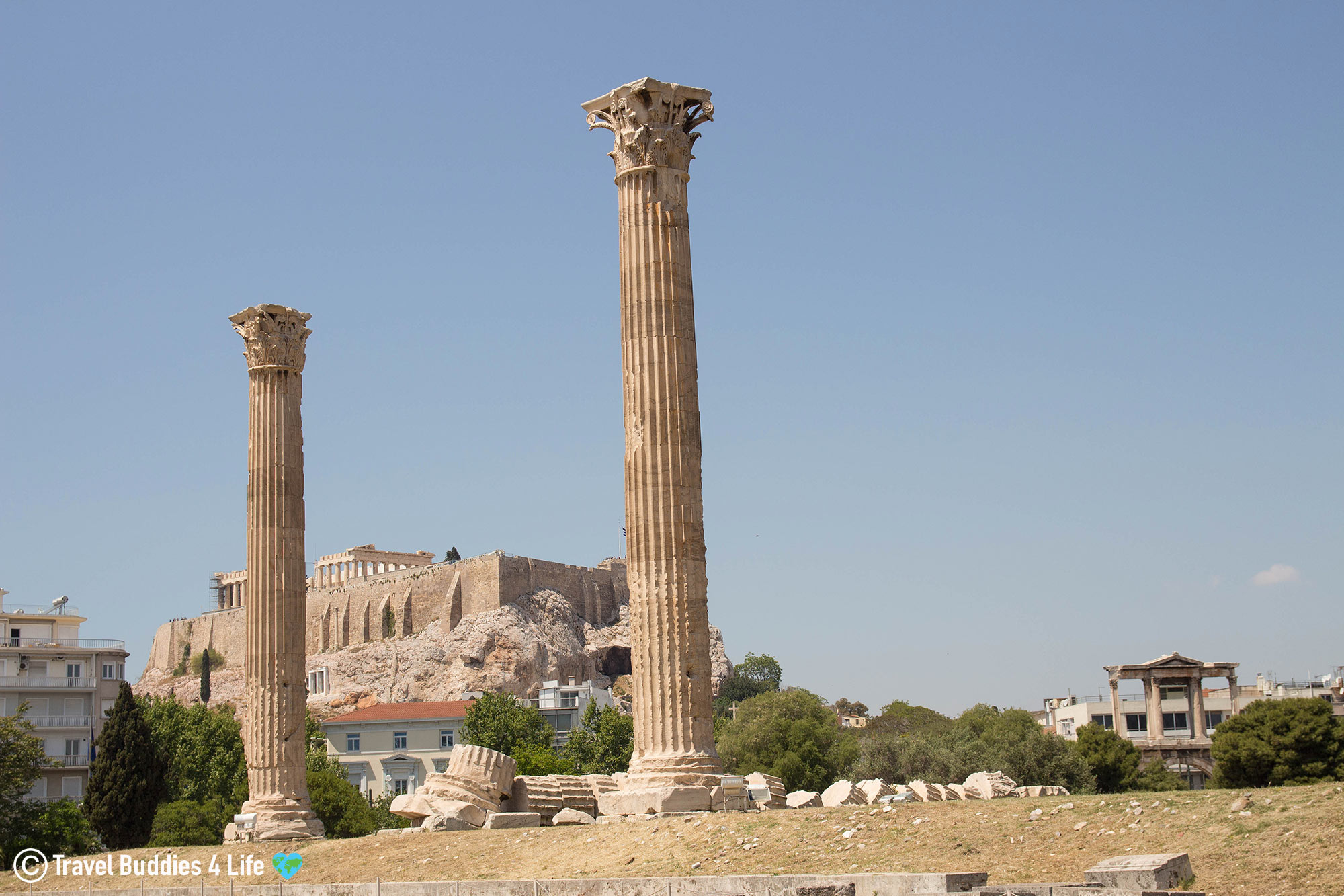The Historic City Of Athens And All Its Greek Architecture, Greece, Travel Europe