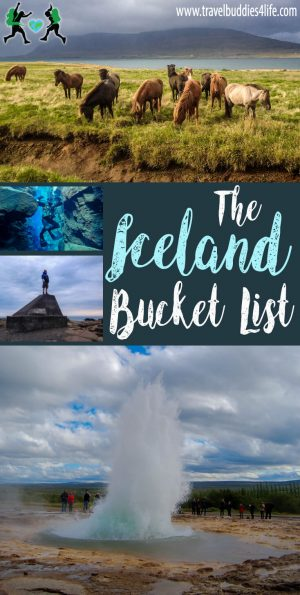 The Iceland Bucket List Pinterest
