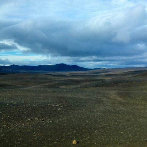 The Mars Like Landscape