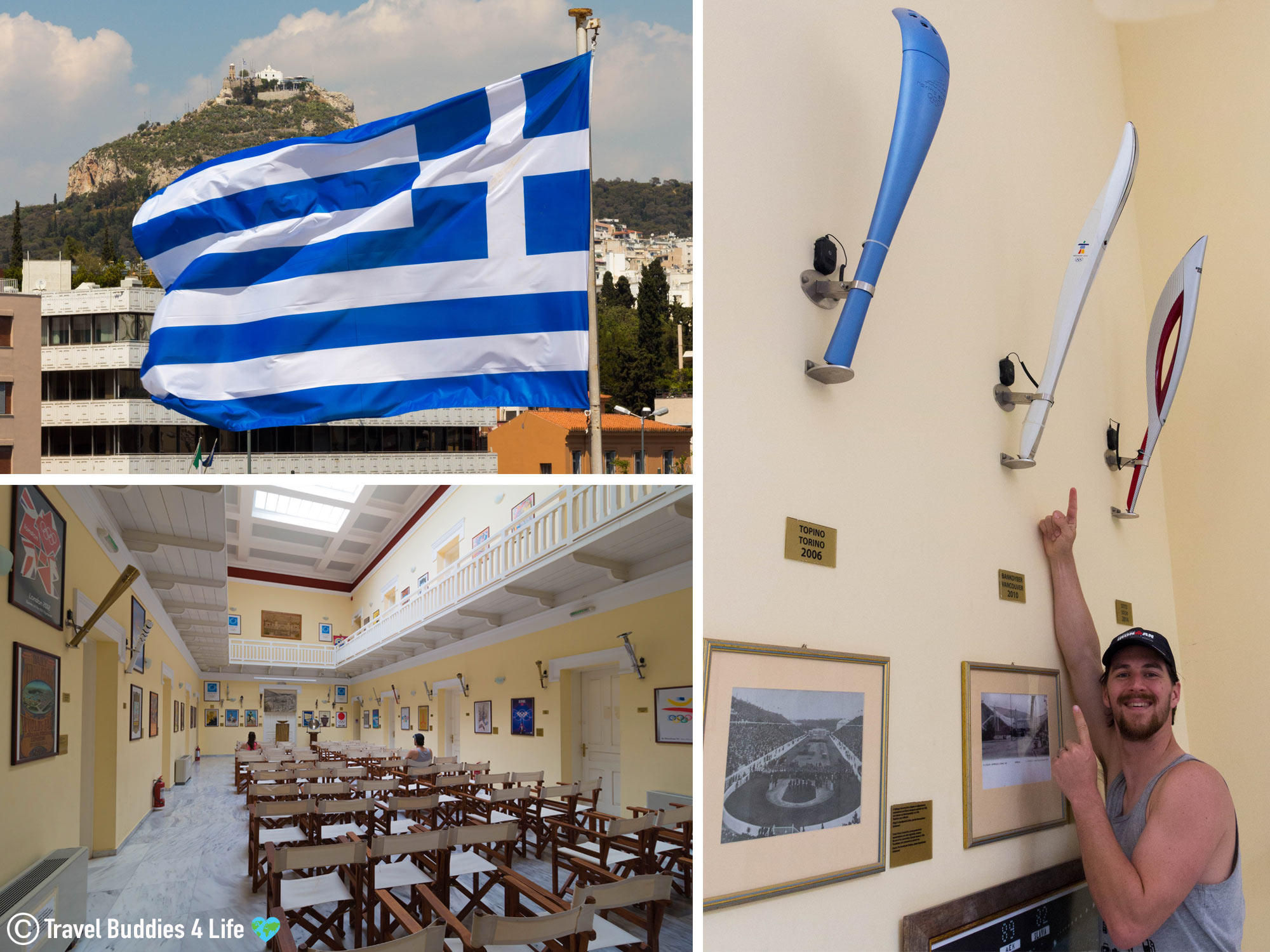 The Olympic Torch Room In The Athens Panathenaic Stadium In Greece, Europe Historic Travels