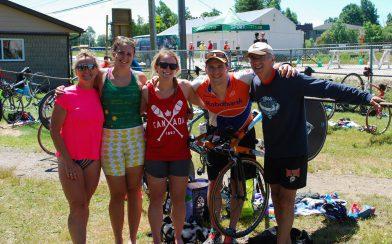 The Perron Family Triathlon In North Bay