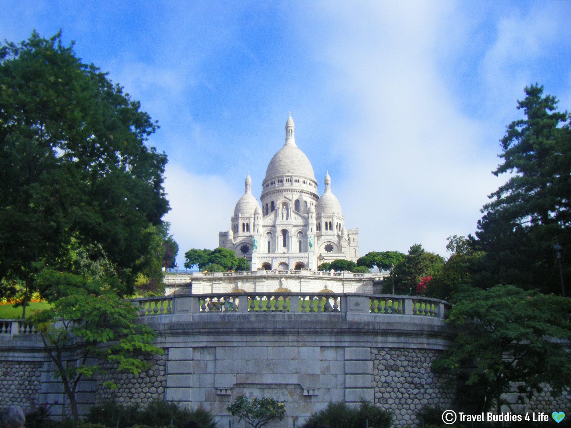 The Picture Perfect Church Of The Basilique Sacré Cœur In Paris, France