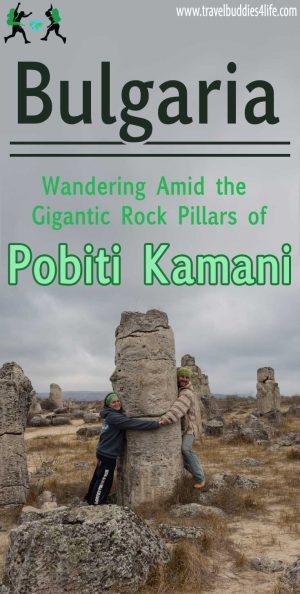 The Rock Pillars Of Pobiti Kamani, Bulgaria Travel, Europe