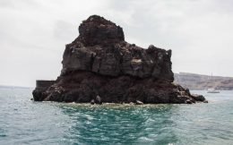 The Sisterhood Of The Traveling Pants Rock In Amoudi Bay, Greece