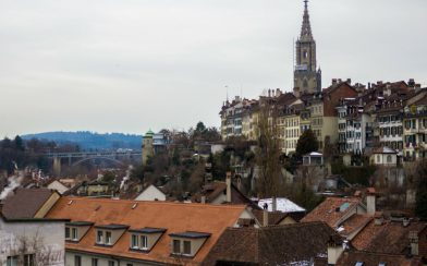 The Town Of Bern, Switzerland