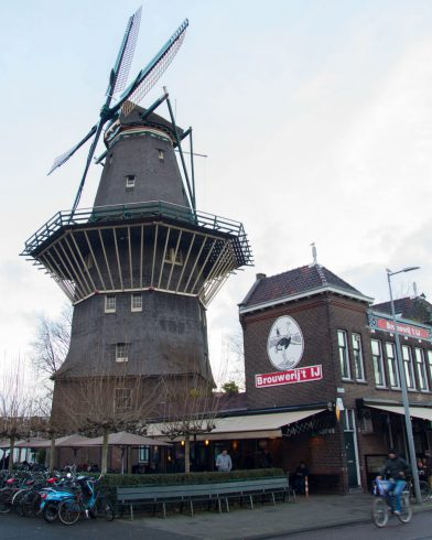 The Windmill On Top If The Brewery