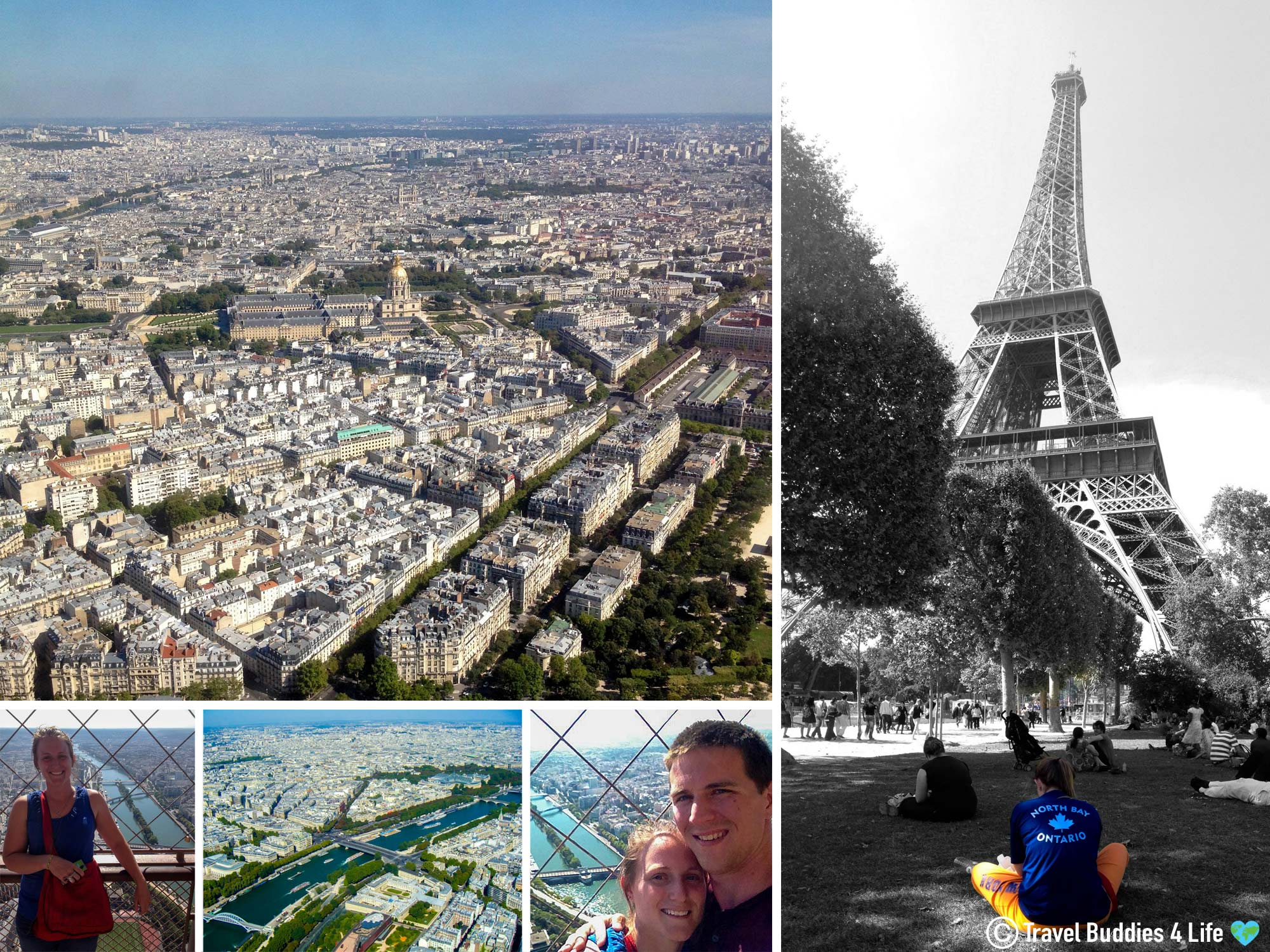Touring The Iconic Eiffel Tower Monument In Paris, France, Europe