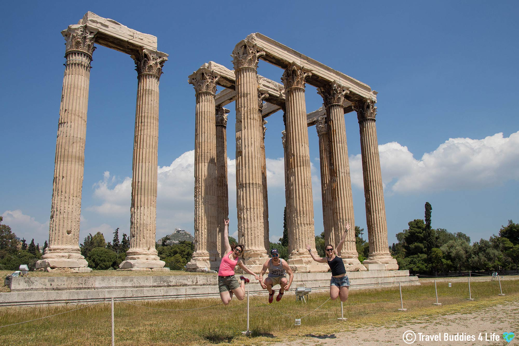 Travelling In Greece And Visiting The Historic Temple Of Zeus In The Heart Of Athens, Greek Adventures, Europe