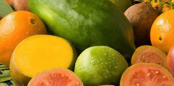 Some Tropical Cuban Fruit
