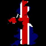 United Kingdom Country Flag And Shape