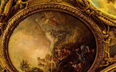 Versaille Castle Ceiling