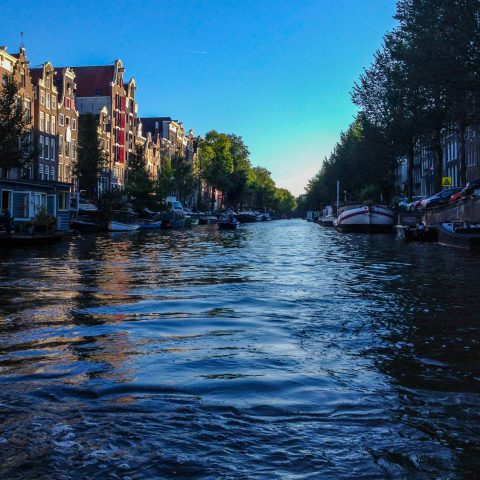 View Down the Canals