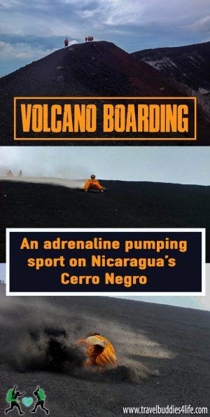 Volcano Boarding in Leon Pinterest