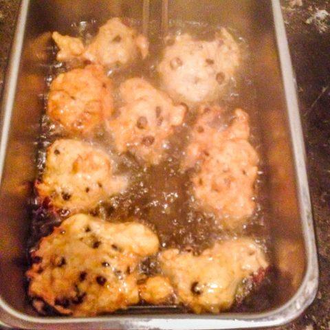 Oliebollen in the Fryer