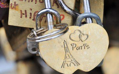 Paris Lock Bridge